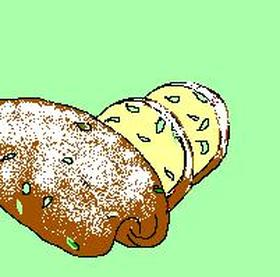 パンプキンの種のパン