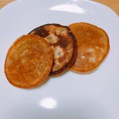 小麦粉と砂糖で作るミニパンケーキ☆