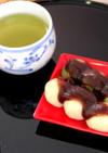 白玉あんだんご -梅・桜風味-