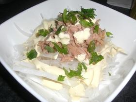 簡単!マヨポンで大根とツナの居酒屋サラダ