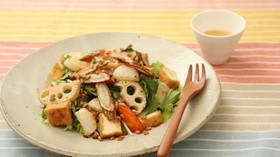 【腸活】大麦入り根菜のサラダ