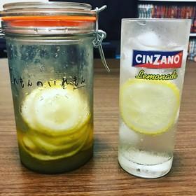 レモン1つでも!自家製レモネード。
