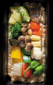 低糖質|15種類野菜の鶏そぼろダシの写真