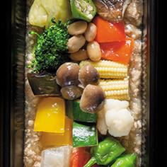 低糖質|15種類野菜の鶏そぼろダシ