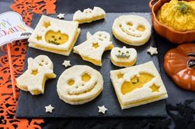 かぼちゃおばけのスパイシーサンドイッチ