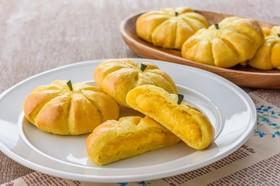 パンプキンクリームパン