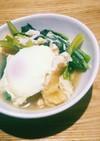小松菜とお揚げさんの炊いたん(煮物)
