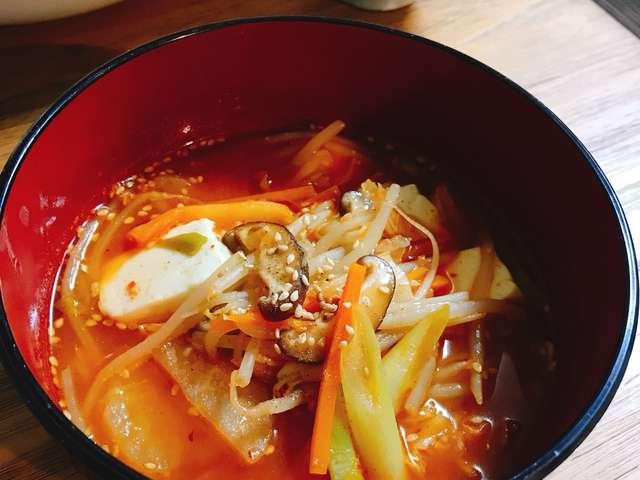 カルビ スープ レシピ 人気