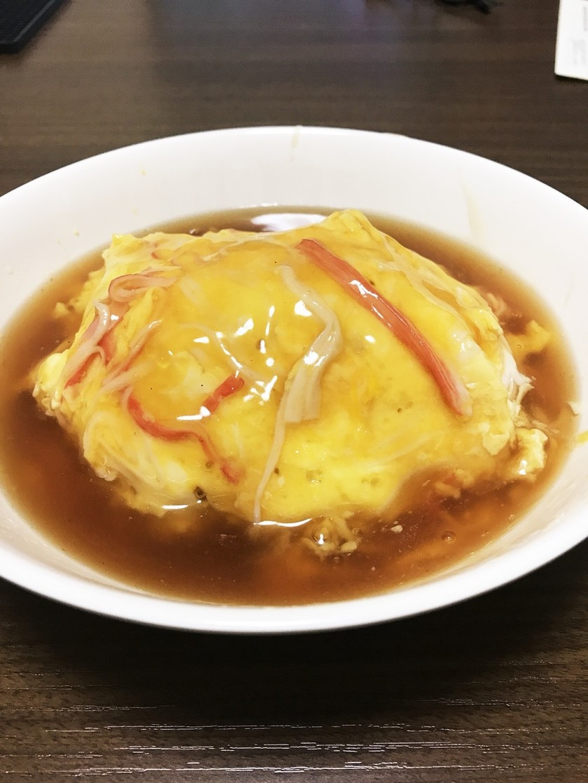 あんから作る簡単絶品天津飯!
