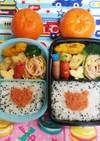 幼稚園(年中)双子のお弁当15