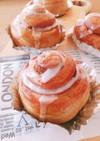 パン作り初めてでも簡単♡シナモンロール♡