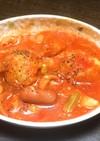トマトジュースでトマトスープ