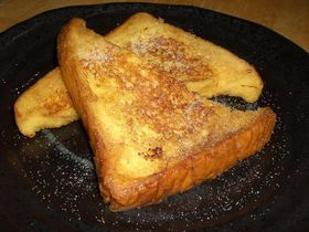 休日ブランチのフレンチトースト
