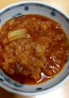 キャベツと玉ねぎの食べるトマトスープ