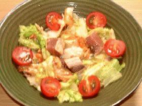 かつおのピリ辛サラダ