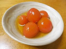 プチトマトのだし浸し