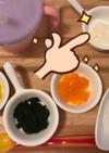 離乳食初期 豆腐のペースト