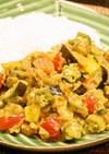 ヘルシー☆彩り野菜とツナのドライカレー♪