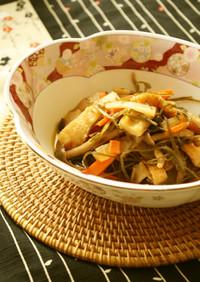 ホッとするお味♪刻み昆布と野菜の煮物♪♪