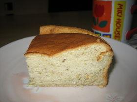 ノンオイル★スフレみたいなバナナケーキ