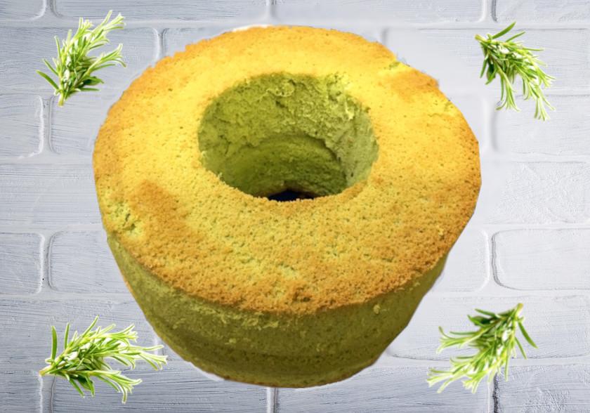 青汁シフォンケーキ