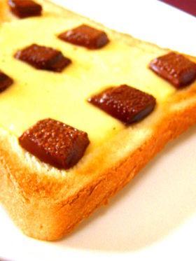 チーズ・チョコ・トースト♡♥