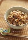 ☆鶏ごぼうの炊き込みご飯☆