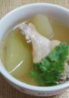 冬瓜と手羽元のスープ(タイ風)