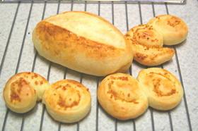 たんかん酵母パン ストレート法