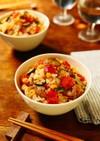 鶏肉と野菜たっぷり☆トマトの炊き込みご飯