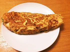 納豆オムレツ