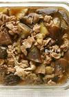麺つゆで!豚肉となすのくたくた煮
