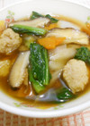鶏どせ風スープ