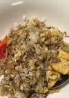 梅(っぽい)ジャコたまご炒飯