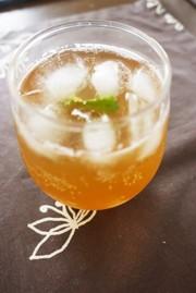 新生姜のジンジャーシロップの写真