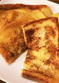 卵・牛乳不使用!甘くないフレンチトースト