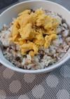 簡単☆さば缶で甘酢生姜と水菜の混ぜご飯