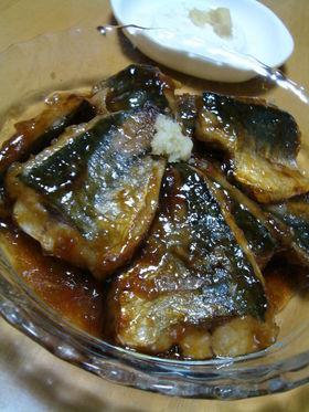 甘辛☆アジの蒲焼