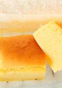 米粉スフレチーズケーキ
