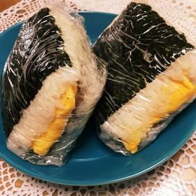 沖縄スパムおにぎらず♡ポーク卵おにぎり