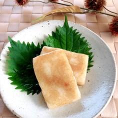 餅の美味しい食べ方★油餅(砂糖じょうゆ)