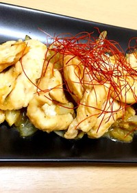 鶏肉のガーリック生姜焼き