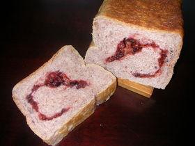 レンジパンで「ローズヒップパン」♪