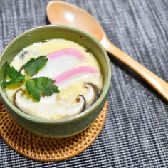 フライパンで簡単♫茶碗蒸し!