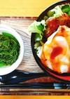 照り焼き和風ロコモコ丼