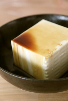 ふぎょぎょ!珍味♪豆腐にウスターソース
