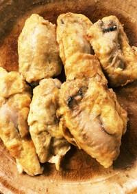 冷凍牡蠣のプリプリピカタ