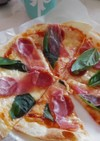 超簡単マルゲリータピザ♪(クリスピー)