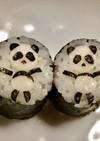 寿司型・模様巻き(パンダ2個だけ弁当用)