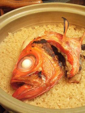 うま~い♪金目鯛飯
